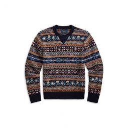 Polo Fair Isle Sweater