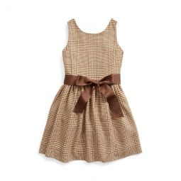 Glen Plaid Dobby Dress