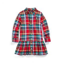 Plaid Cotton Shirtdress