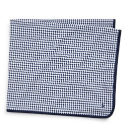 Houndstooth Cotton Blanket