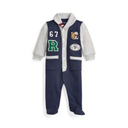 Cotton-Blend-Fleece Coverall