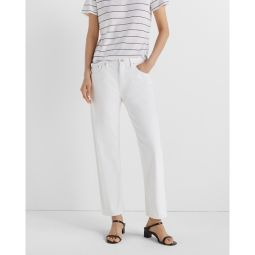 Relaxed Slim Crop Jean