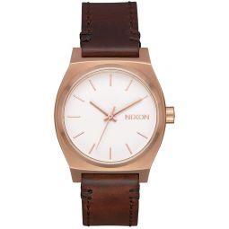 Medium Time Teller Leather Watch