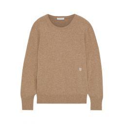 Light brown Cesena melange cashmere sweater
