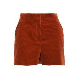 Brick Cotton-corduroy shorts
