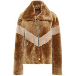 Camel Shearling jacket