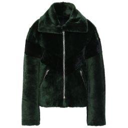 Dark green Shearling jacket