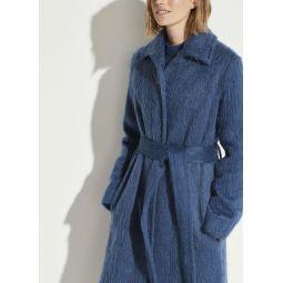 Belted Slim Coat
