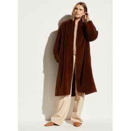 Long Plush Coat