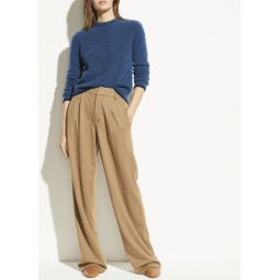 Cozy Wool Wide Leg Pant