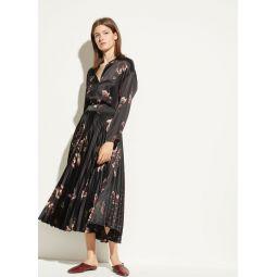 Mixed Tulip Satin Skirt