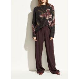 Flannel Wide Leg Pant