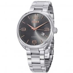 Mens Fendimatic Stainless Steel Black Sunray Dial