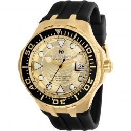 Mens Grand Cruise Silicone Gold-tone Dial