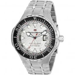 Mens Grand Cruise Stainless Steel Silver-tone Dial