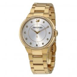 Womens City Stainless Steel Silver Dial