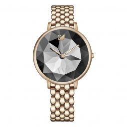 Womens Crystal Lake Stainless Steel Grey Dial