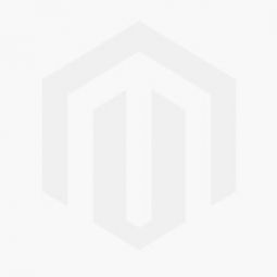 Womens Stainless Steel Bangle White Mother of Pearl Dial