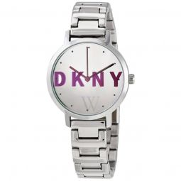 Womens The Modernist Stainless Steel Silver Dial