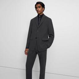 Blazer in Bonded Wool Twill