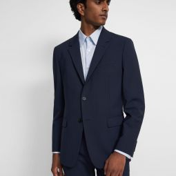 Chambers Blazer in Checked Stretch Wool
