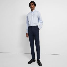 Mayer Pant in Checked Stretch Wool