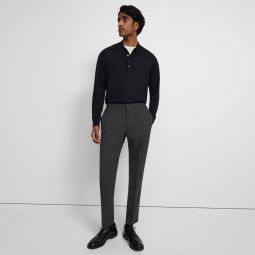 Mayer Drawstring Pant in Bonded Wool Twill