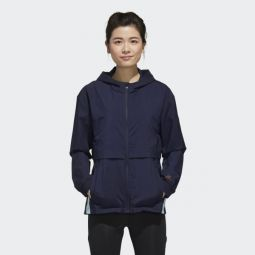 adidas x Zoe Saldana Collection Womens Windbreaker Jacket