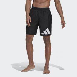 Classic-Length Logo Swim Shorts