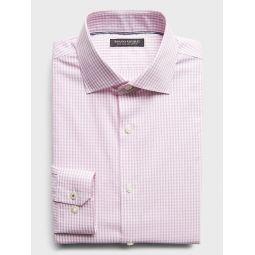 Standard-Fit Non-Iron Dress Shirt with Cutaway Collar