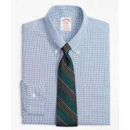 Stretch Madison Classic-Fit Dress Shirt, Non-Iron Mini-Windowpane