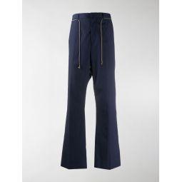 Acne Studios Jupiter drawstring-waist trousers blue