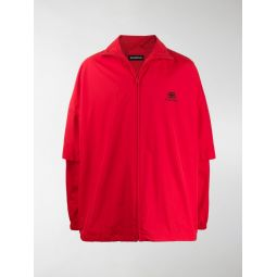 Sale Balenciaga double sleeve jacket red
