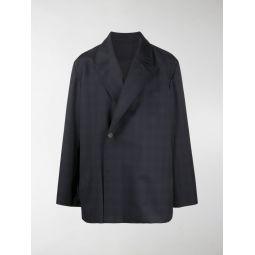 Sale Balenciaga flap tailored blazer blue