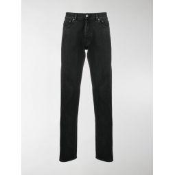 Sale Balenciaga slim straight-leg jeans black