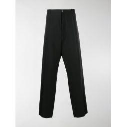 Sale Balenciaga wide-leg tailored trousers black