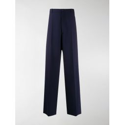 Sale Balenciaga wide-leg trousers blue