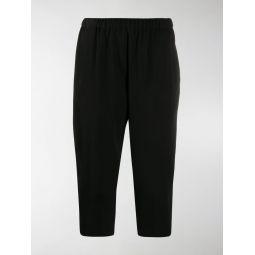 Sale Comme Des Garcons Comme Des Garcons cropped tapered trousers black