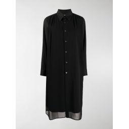 Comme Des Garcons relaxed-fit shirt dress black