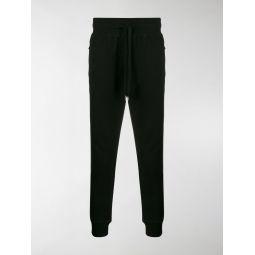 Dolce & Gabbana drawstring cotton sweatpants black