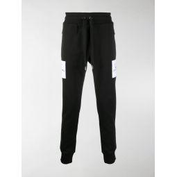 Dolce & Gabbana logo patch track pants black