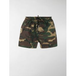 Sale Dsquared2 camouflage Icon swim shorts green