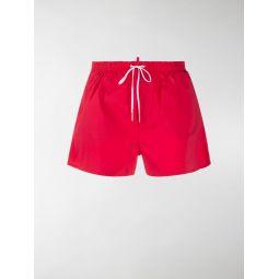 Sale Dsquared2 Icon drawstring-waist swim shorts red