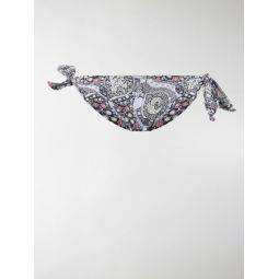 Sale Isabel Marant printed bikini bottoms blue