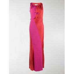 Sale LANVIN open front heart dress red