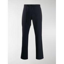 Sale Maison Margiela drawstring cropped trousers blue