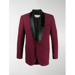 Marni single-breasted suit jacket red