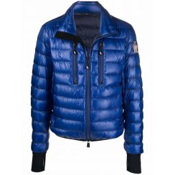 Moncler Grenoble Hers quilted down jacket blue