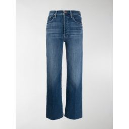 Sale Mother Groovin high-waisted jeans blue