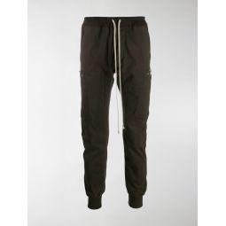 Rick Owens Performa cargo track pants brown